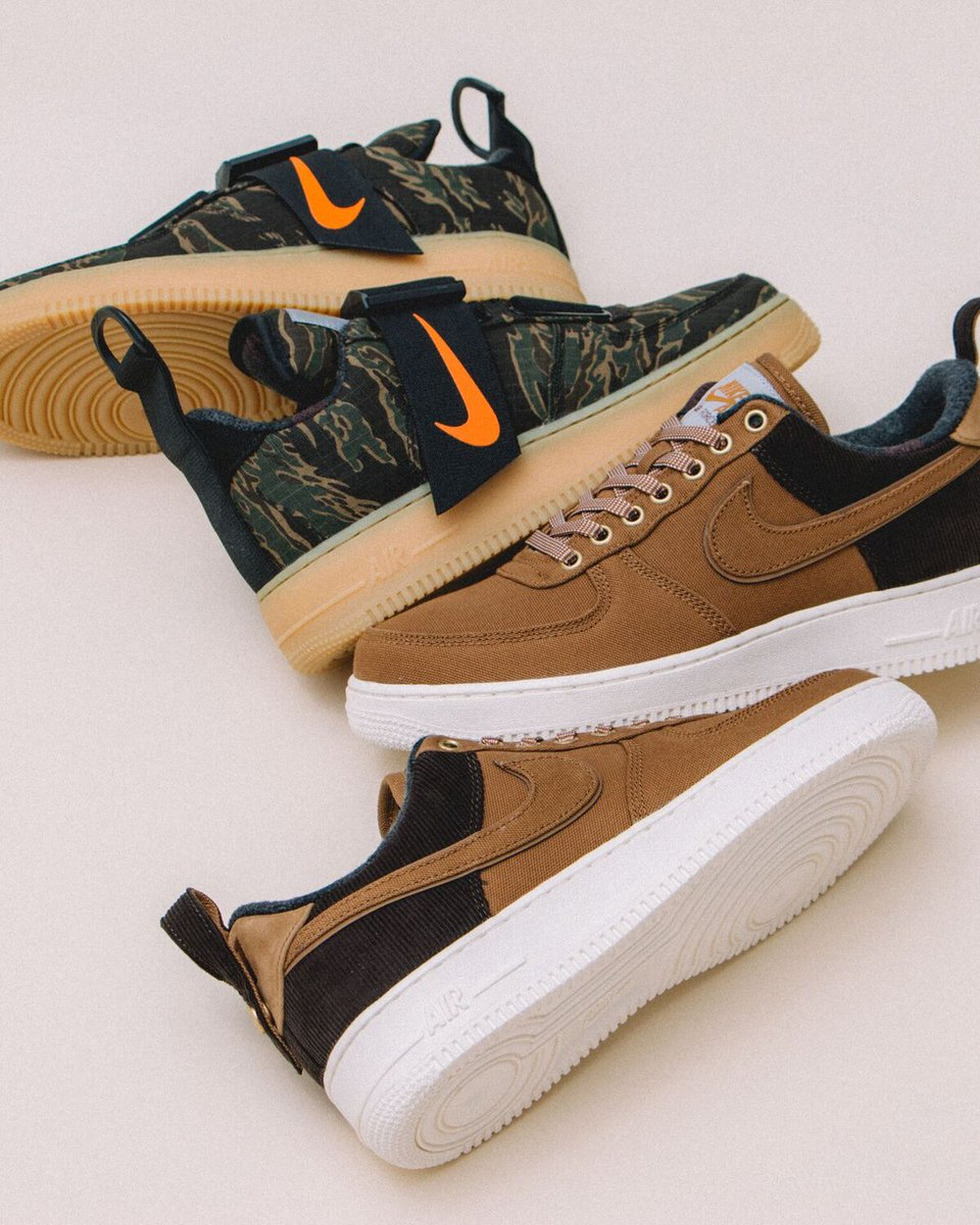 watch df4cf 50825 ... Vancouver shops (Men s also at Winnipeg), alongside the Nike x Carhartt  WIP AF 1 Utility Low Premium in Men s sizing only. Online at 12 PM PST if  pairs ...
