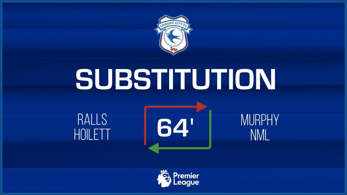 64 - Double change for the #Bluebirds - @joshmurphy65 & @mendezlaing19 are on! (3-0) Matchday Live 👉 bit.ly/2rl5OZe #WHUCAR #CityAsOne 🔵⚽️🔵⚽️