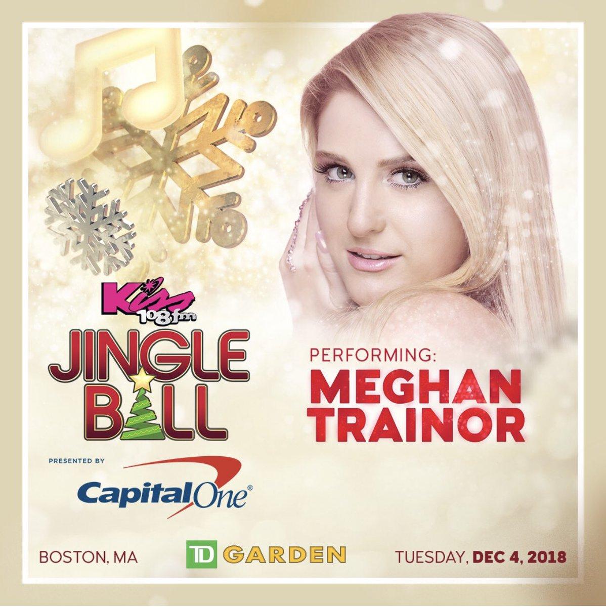 BOSTON!!! Tonight is #JingleBall 🎉🎉🎉@iHeartRadio @tdgarden @Kiss108FM