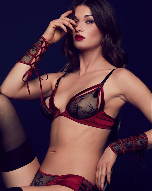 ff65dd0af ... bra is constructed with opening cup to add a hint of mischief this  Christmas. Styled here with matching wrist cuffs and open …  https   ift.tt 2QfUFaX ...