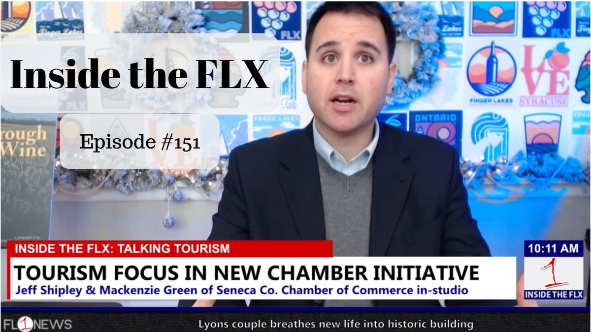 Discussing tourism and travel in the Finger Lakes .::. Inside the FLX 12/4/18