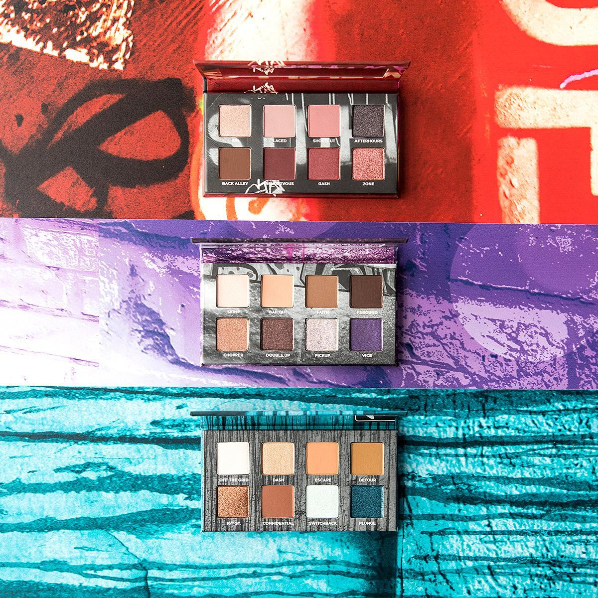 Think of our On the Run Mini Palettes as quick-and-dirty getaways for when you need a major beauty escape. Bailout, Detour + Shortcut are equipped with 4 mattes and 4 shimmers, so you'll be able to whip out the one you want on the go 😉 AVAILABLE NOW @Sephora mobile #UrbanDecay