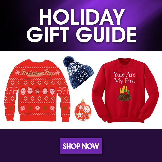 Backstreet Boys Christmas Sweater.Backstreet Boys On Twitter Our Holiday Gift Guide Is Up