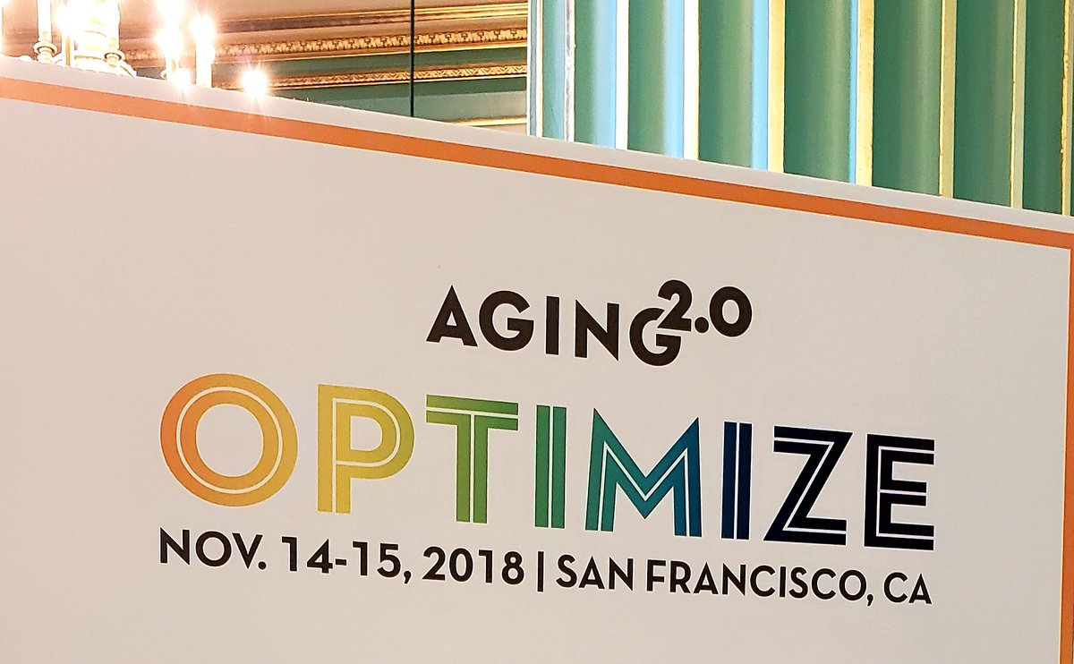 Interested in healthy aging and innovation? Then watch the recap of the A2 OPTIMIZE conference I attended a couple of weeks ago in San Francisco. See if you can spot me in the video! https://www.facebook.com/Aging2/videos/1123828377774907/… #healthyaging #healthyageing #innovation