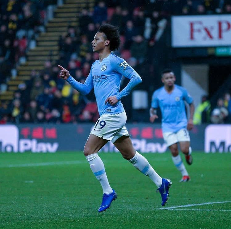 Back to Manchester with three points in our pocket 🔥⚽️🔥 #LS19 #inSané @ManCity