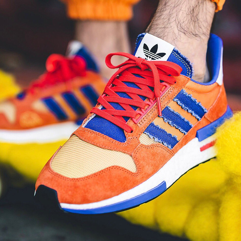 best loved 16dae c0e1a Adidas Originals x Dragon Ball Z - ZX 500 RM (Goku) SIZE (UK ...