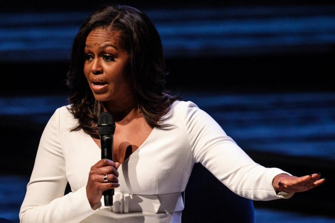 Michelle Obama: I have been at every powerful table you can think are not that smart Photo