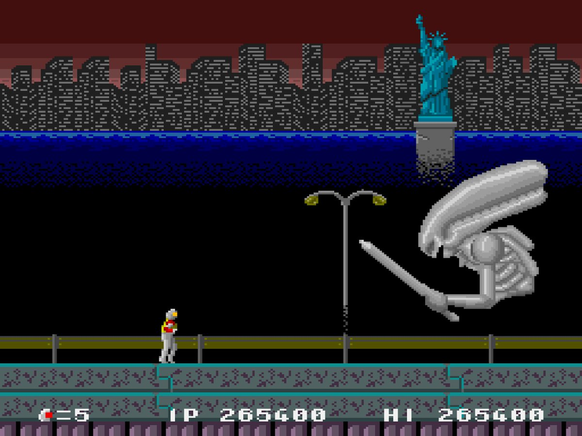 Arcade] Atomic Runner Chelnov: Nuclear Man, The Fighter