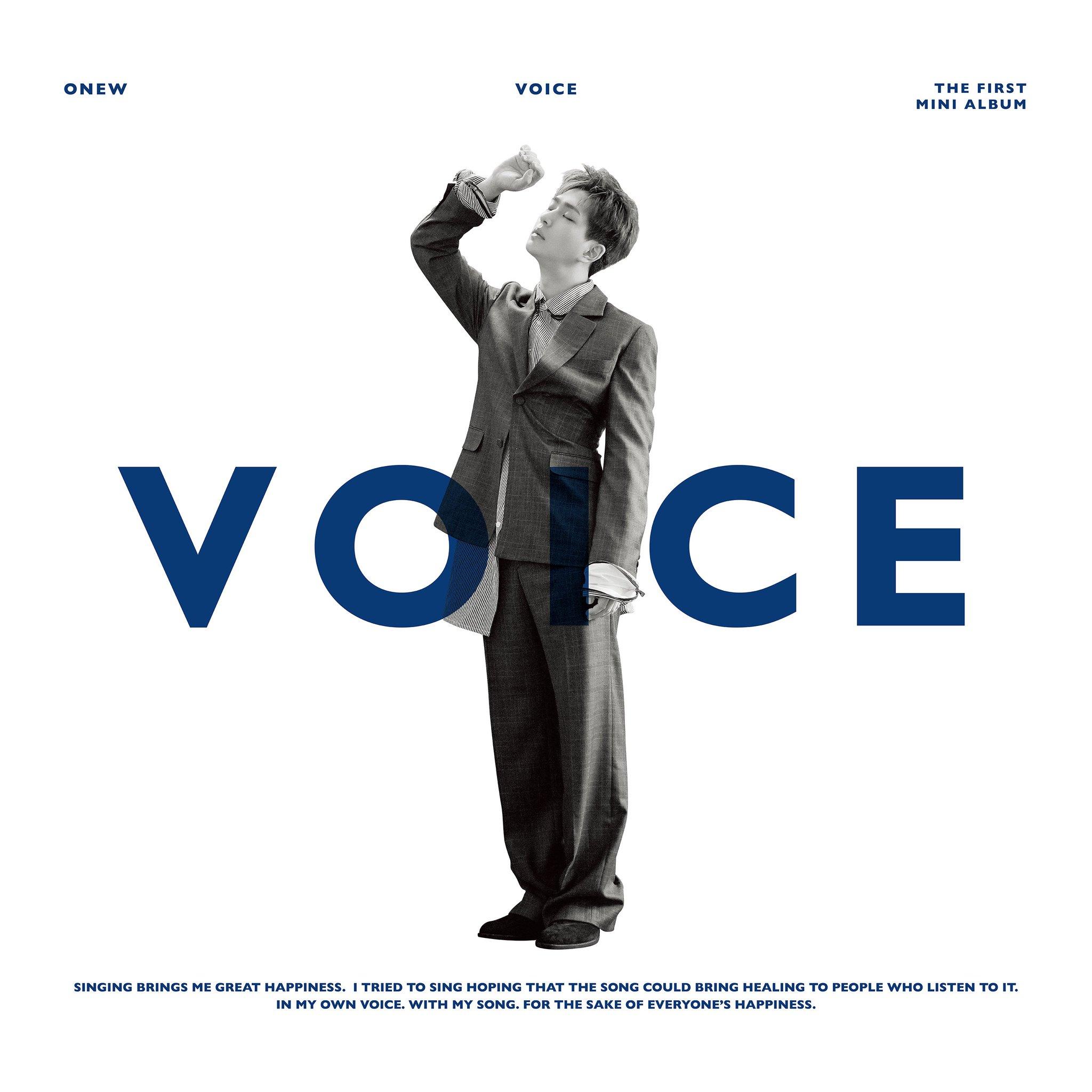 Imagini pentru onew voice album