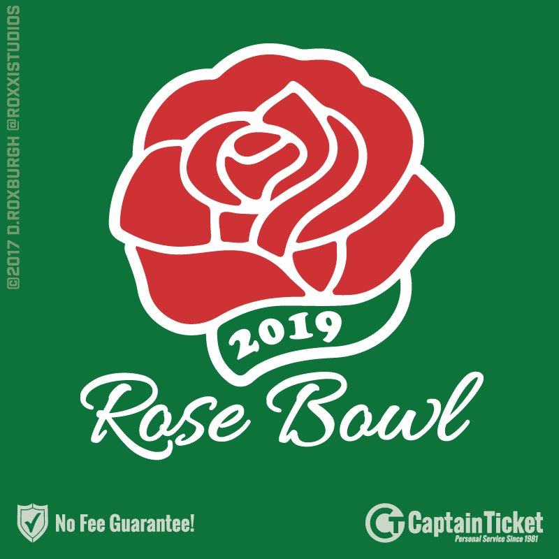 e0a45c15642  noservicefees  rosebowl2019 With no service fees and real people available  for customer service