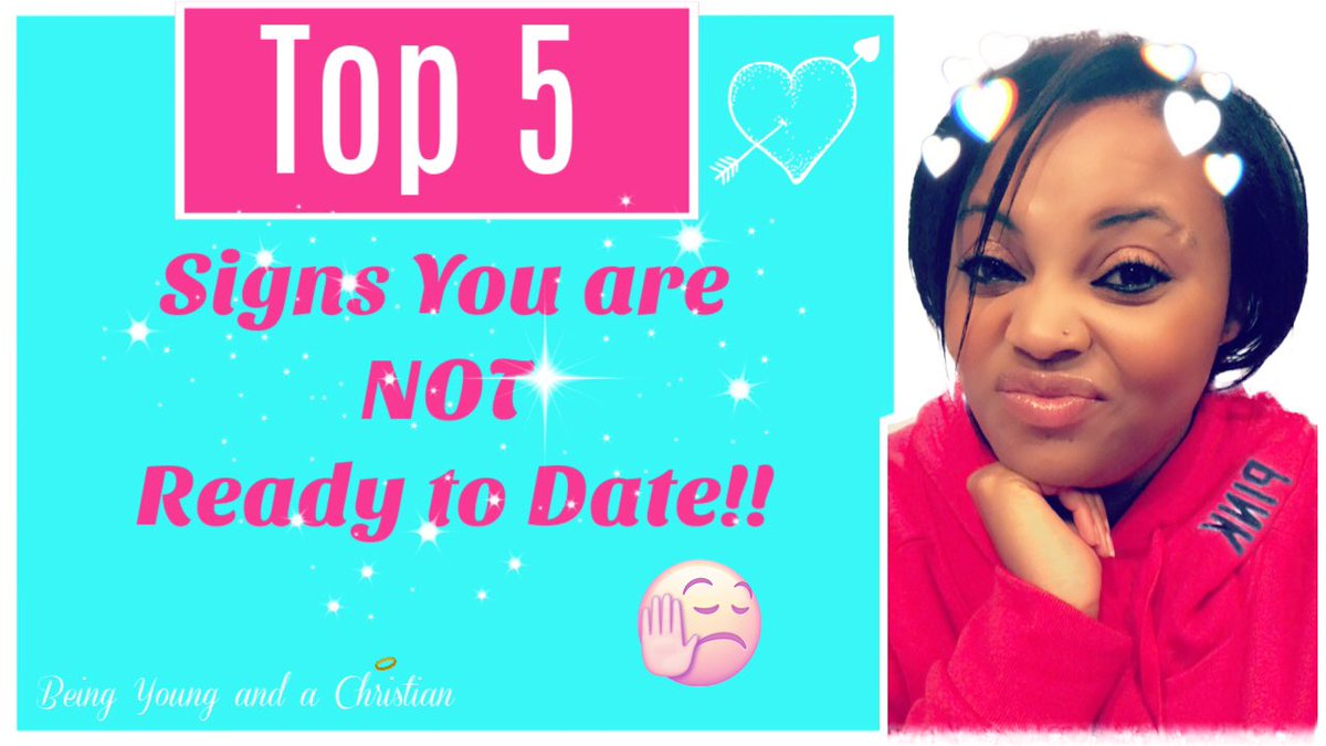 5 signs your not ready dating