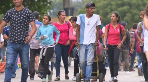 The crisis in Venezuela is fueling the largest exodus in the Western Hemisphere. Tonight on Nightline, we're with mothers on a journey to find a better life. @mattgutmanABC