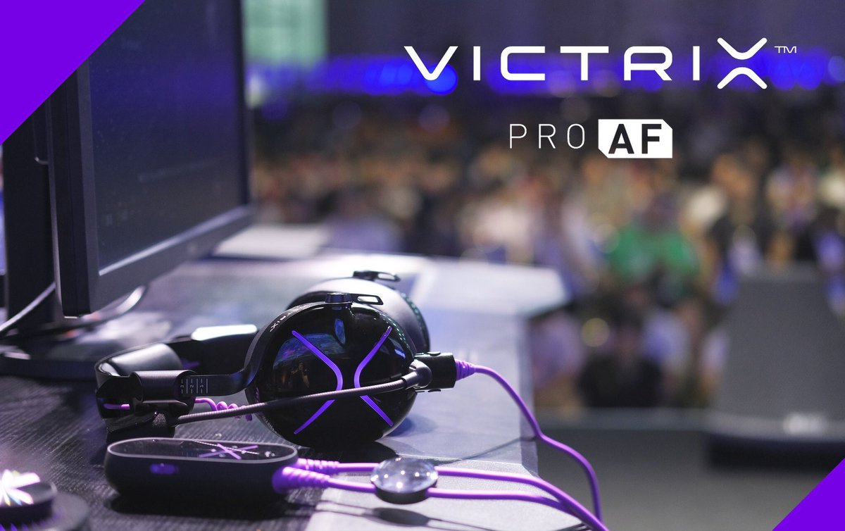 Get your hands on the best gaming headset on the market. @VictrixPro Code SoaR victrixpro.com