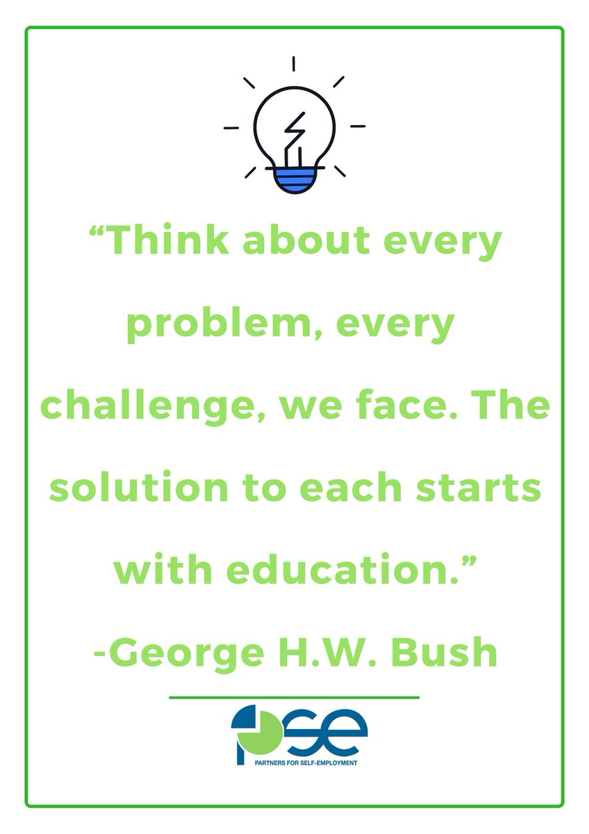 As our nation pays its final respects to our 41st President George H.W. Bush, the Partners For Self-Employment Quote of the Day recalls a few of his many words of wisdom. Rest in peace, Mr. President. #QotD #PSEFL #GeorgeHWBush