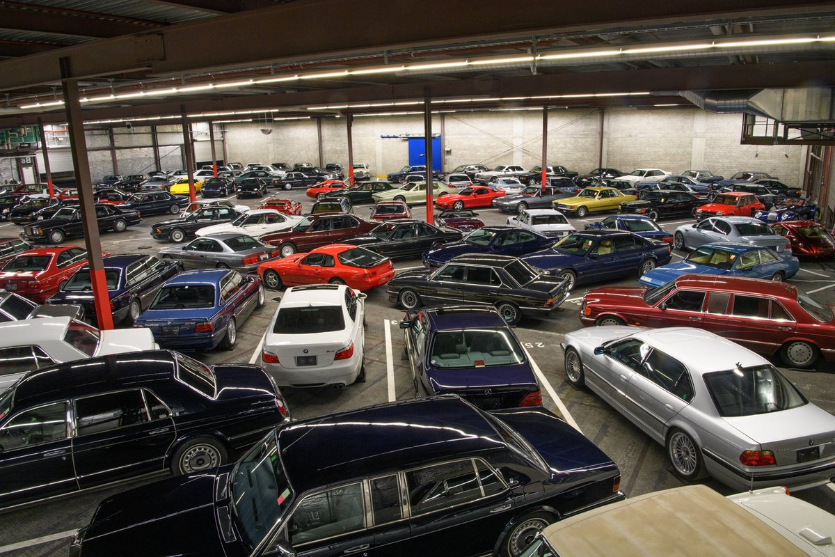 Insane modern classics collection to be auctioned - how many BMW ALPINA's can you spot? @alpina_nicole @ALPINAGB @BMW_Classic @BMWUSAClassic https://bit.ly/2Rw56Uh