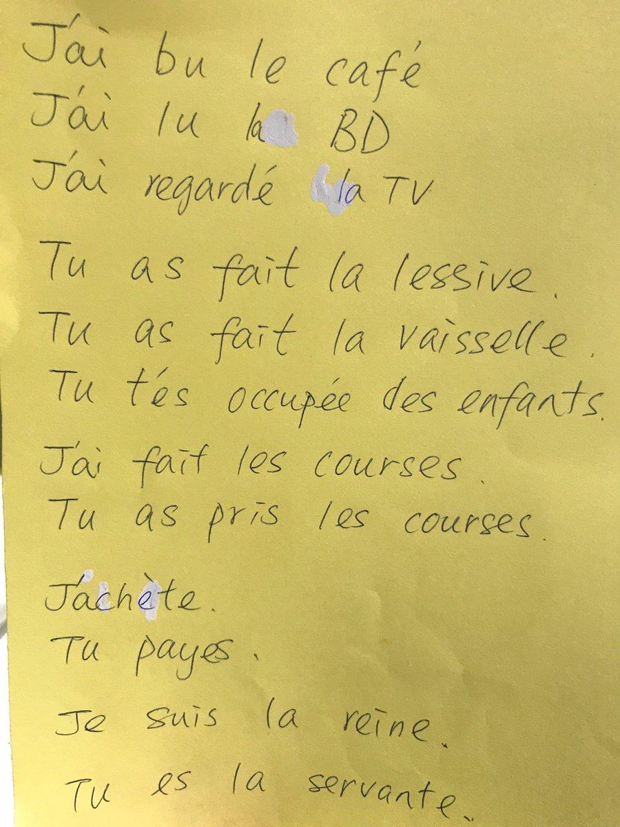 Emeline Colson On Twitter Fle A1 écrire Son 1er Poème En