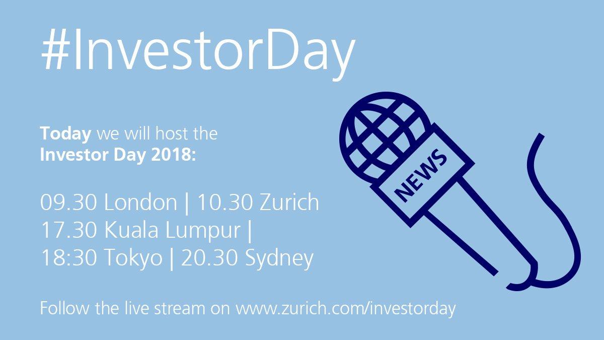 #InvestorDay Latest News Trends Updates Images - Zurich