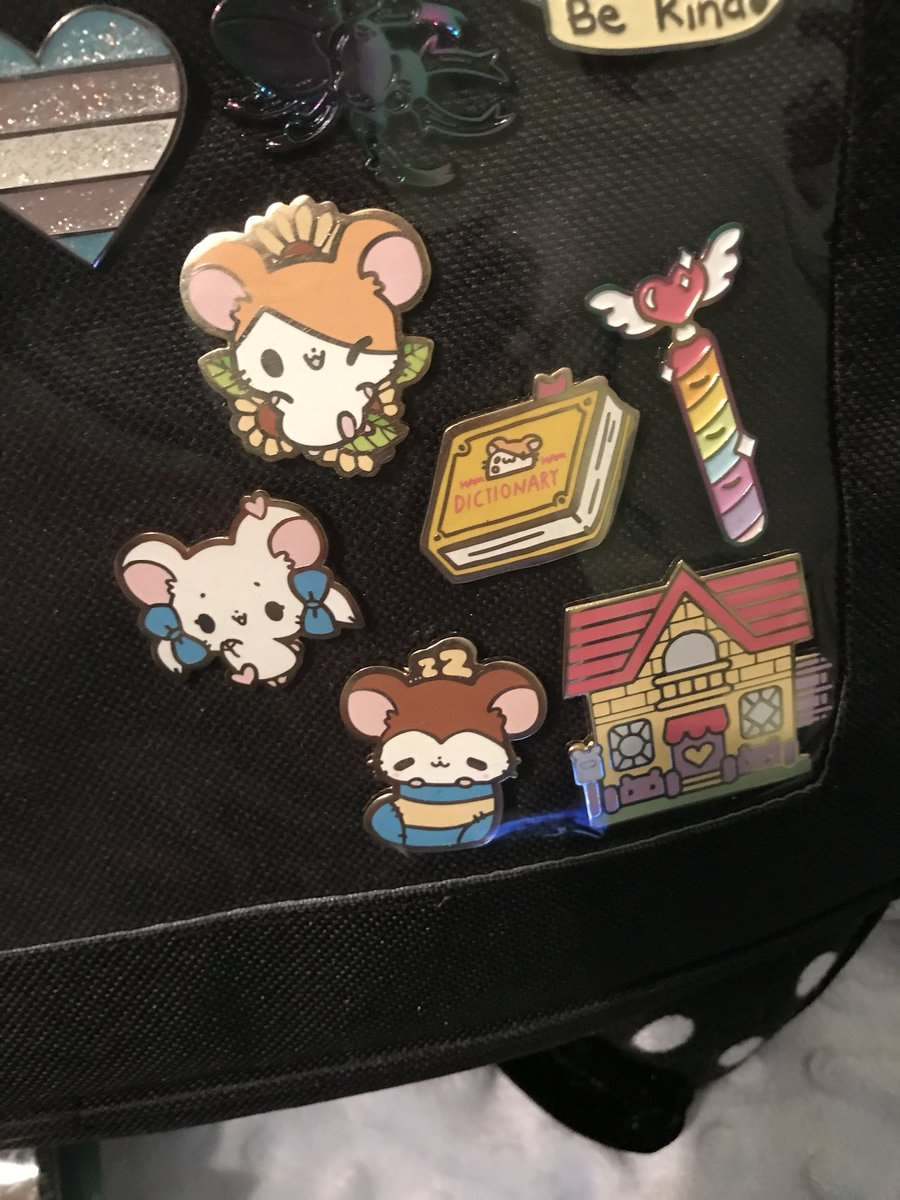 Such nostalgic pins! Hamtaro played a big role for me growing up. Thank you @blushsprout