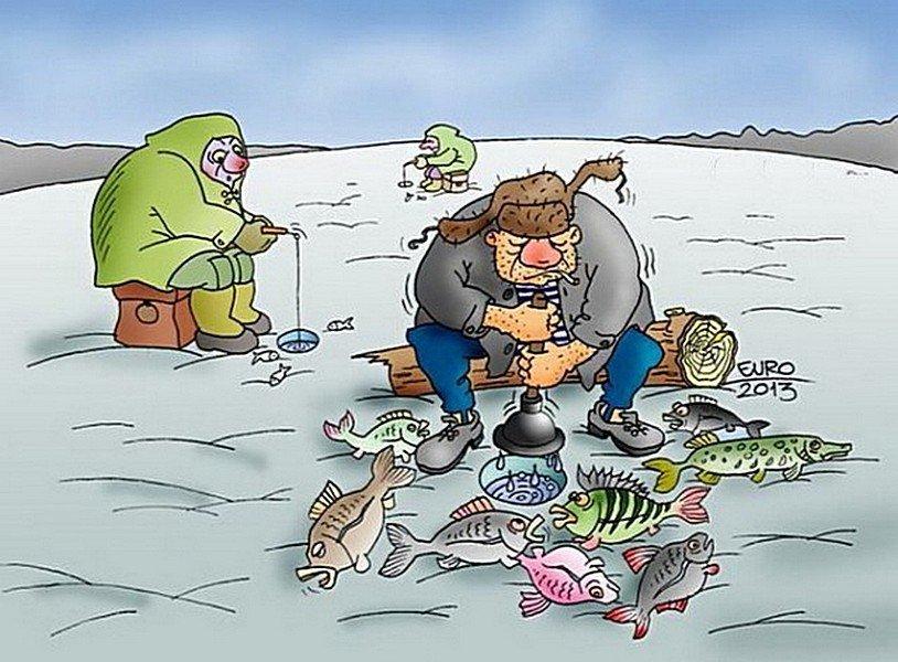 Картинки на рыбалку прикольные