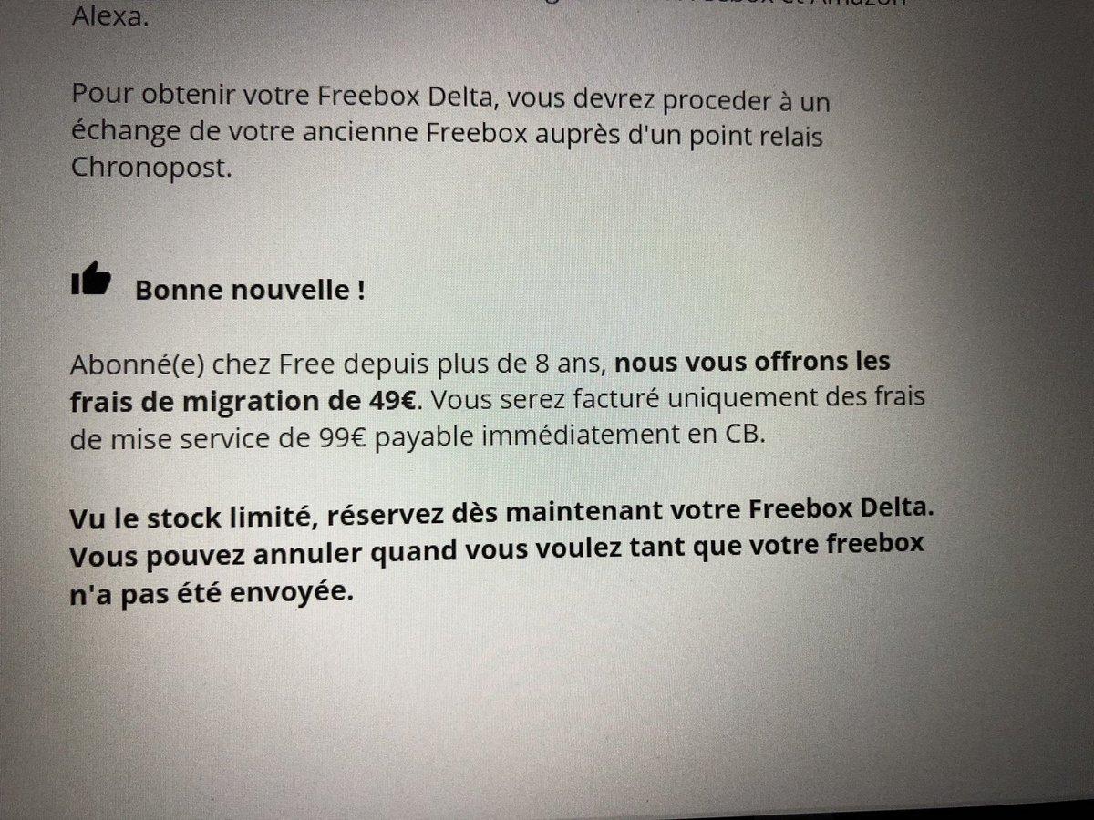 Freenews On Twitter Freebox Delta Pour Les Abonnes Freebox Les