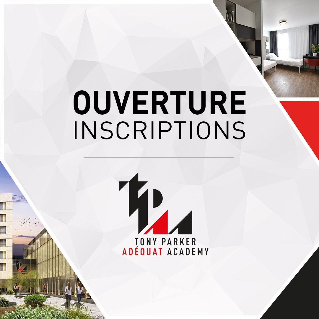 Soyez les premiers à rejoindre la @TP_A_A en septembre 2019, candidatez dès aujourd'hui ! 🙌🏽🙂 Join the Tony Parker Adéquat Academy in September 2019. The application process is now open!