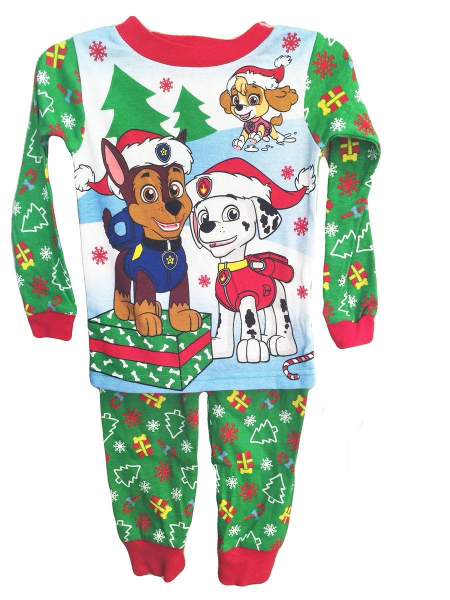 "☆Maryann Lowden☆'s tweet - ""Tis the Season for #Christmas Pajamas #PawPatrol Toddler Christmas Cotton Pajama Set Size 3T #ad #giftidea 🎁 "" - Trendsmap"