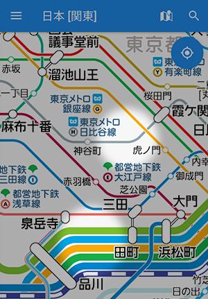 路線 図 線 メトロ 日比谷 東京