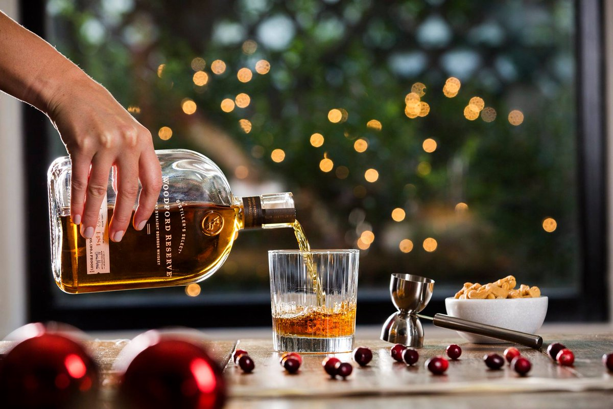 A pour every guest will appreciate. #woodfordreserve