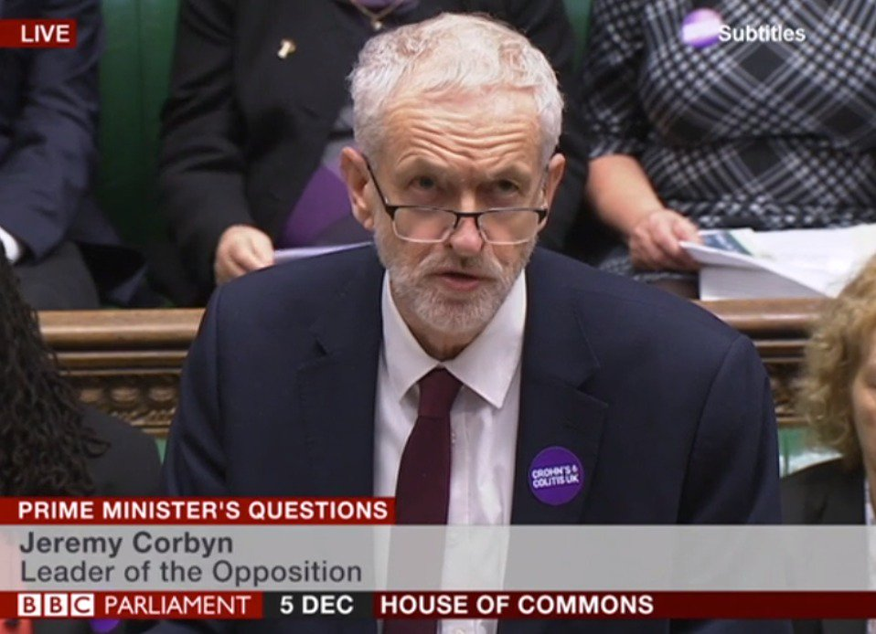 Amazing to see @jeremycorbyn and members of @UKLabour wearing a Crohn's & Colitis UK badge in @UKParliament #PMQs during #Crohns and #Colitis Awareness Week 👍🏻  http://crohnsandcolitis.org.uk/hope  #ItTakesGuts