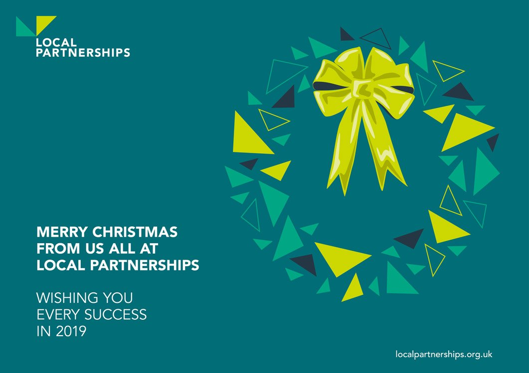 Merry Christmas from us all at Local Partnerships! Subscribe to our newsletters to receive festive messages like this, as well as trusted, professional, public sector support and guidance across multiple disciplines. Sign-up on our home page https://t.co/4srgL0quhp #LocalGov