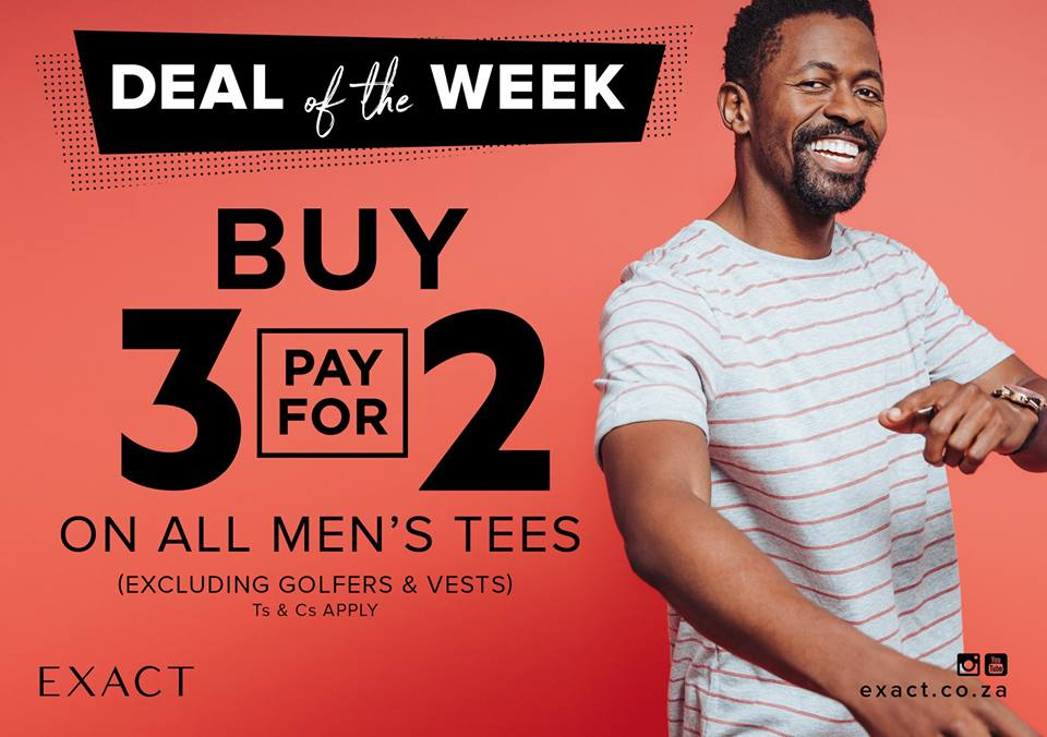 Tfg On Twitter It S The Final Day To Get Your Hands On This Exact Deal Buy 3 Pay For 2 On All Men S Tees Shop In Store Or Online Now At Https T Co Obdiyvwdi9 Https T Co Pxhrzgxfr7