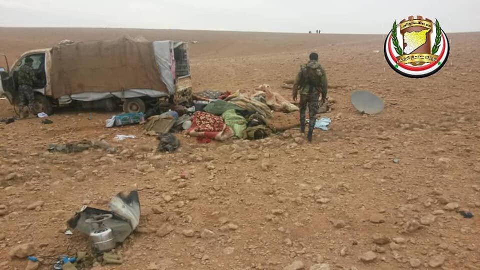 Сводки из Сирии. Разгром банды ИГИЛ в провинции Хомс (18+)
