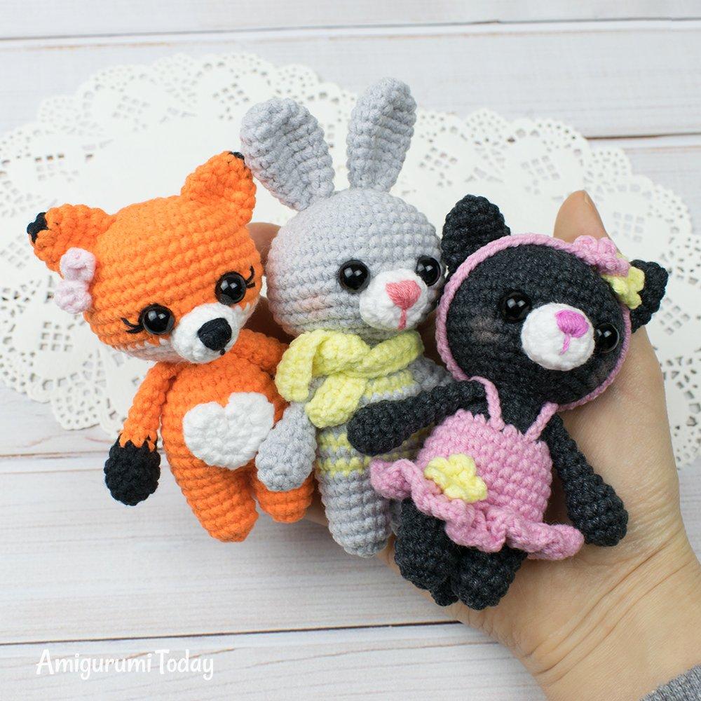 Amigurumi bunny with Easter egg - Amigurumi Today | 1000x1000