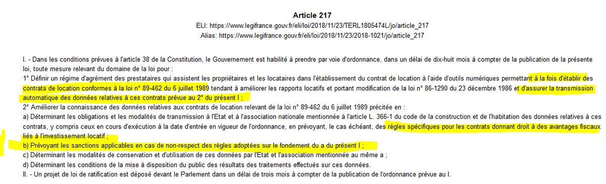 Pierre De Plater On Twitter La Loi Elan Prevoit L Etablissement