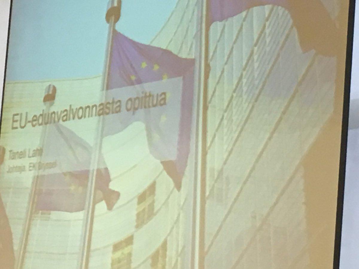 """test Twitter Media - EK:n Brysselin toimiston johtaja Taneli Lahti tilaisuudessa etäyhteyden kautta:  """"Aikaisuus, avoimuus, rehellisyys ja faktojen tarkistaminen pätee edunvalvontatyössä myös Brysselissä"""" @Elinkeinoelama #TurkuEUoffice #varsinaissuomi #vskumppanuus #turku https://t.co/PUFrUdulIO"""