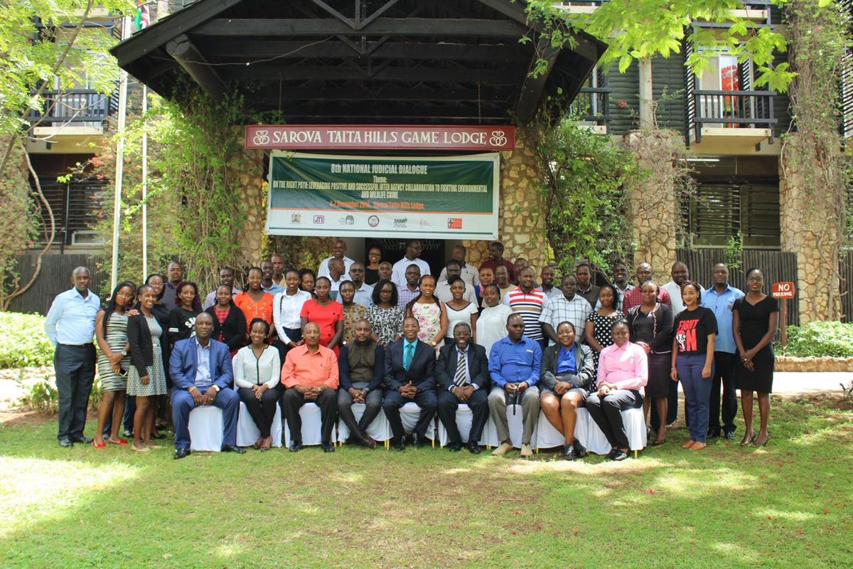 WildlifeDirect joins wildlife law enforcement agencies at the 8th National Judicial Dialogue on Environmental &amp; Wildlife Crime that is part of a series of high-level engagements on wildlife crime response. Thank You @WhitleyAwards 4 supporting our legal work to #EndWildlifeCrime. <br>http://pic.twitter.com/c1gmVj2Z4C