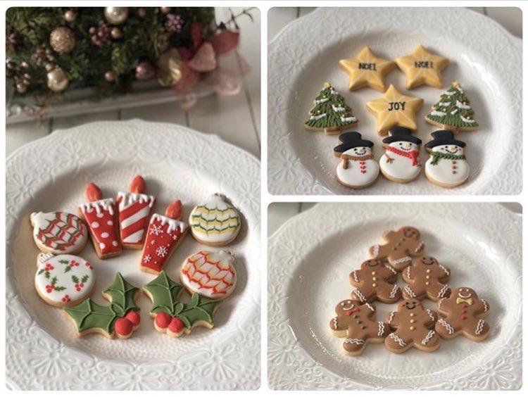 【りとるがれっとカフェ部門】 Atelier Dolce さんから納品アイシングクッキーです! クリスマスバージョン色々! ラッピングでツリーにぶら下げることも出来ます  #アイシングクッキー #ハンドメイド #クリスマス #アイシングクッキー作り #りとるがれっとpic.twitter.com/kRC7wBwM1y
