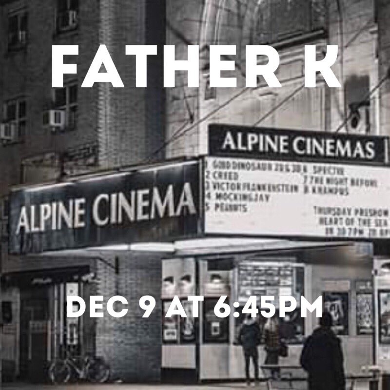 1001 Media Limited On Twitter Hey Brooklyn Rev El Yateem Returns To Brooklyn For Screenings Of Father K Documentary At Alpine Cinema You Might Recognize This Story Mcewenannie Sarqari Https T Co Folbiebc6l Dragon ball super broly alpine cinema. twitter
