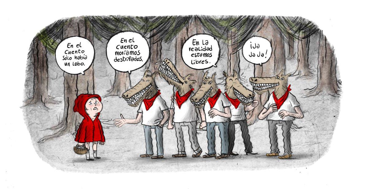 Sobre cuentos y la triste realidad #LaManada