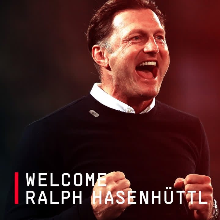 Introducing your new #SaintsFC First Team Manager...  Welcome, Ralph Hasenhüttl! 😇