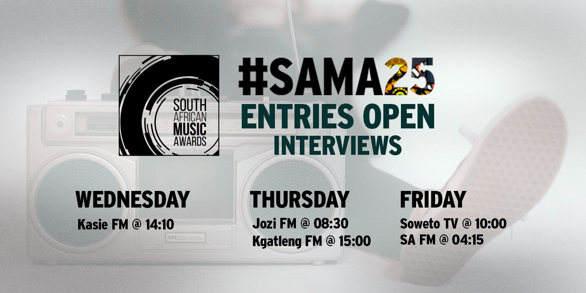 The Sa Music Awards On Twitter Get To Know Everything You Need To