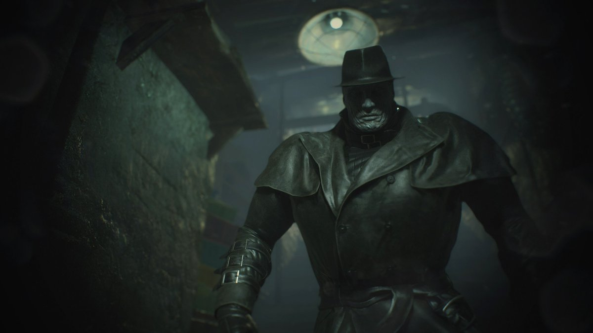 Meet Mr X. 🎩 A relentless, unstoppable force that radiates violence and destruction. He will become one of your worst nightmares in #RE2.