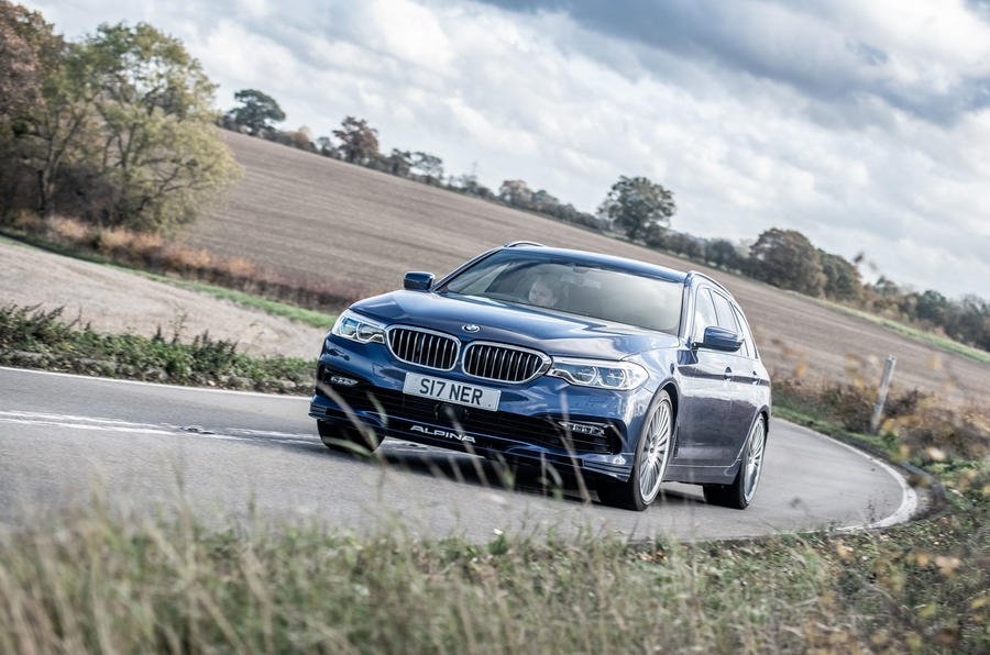 """4.5 stars from @autocar for @ALPINA_GmbH's 202mph estate: """"Progress is smooth, calm, quiet and steadfast... you'll carry 30mph more than intended, such is the reassuring fluidity of this chassis, and yet there's body control to spare."""" https://www.autocar.co.uk/car-review/alpina/b5/first-drives/alpina-b5-biturbo-touring-2018-uk-review…"""