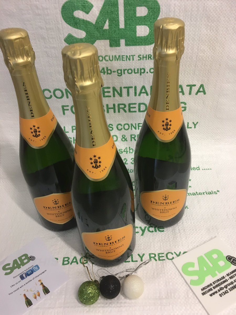 We are giving away bottles of England's finest ,Denbies sparkling wine . We are not allowed to call it Champagne To be in with a chance to win a bottle . Please like this post and tag a friend . Good luck and Merry Christmas .#liketowin #competition #TagAFriend #Retweet<br>http://pic.twitter.com/m4wROJLft7