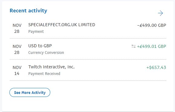 On November 28 499 01 Was Converted To Gbp And The Donation Made Pic Twitter Wrjnpvnarp