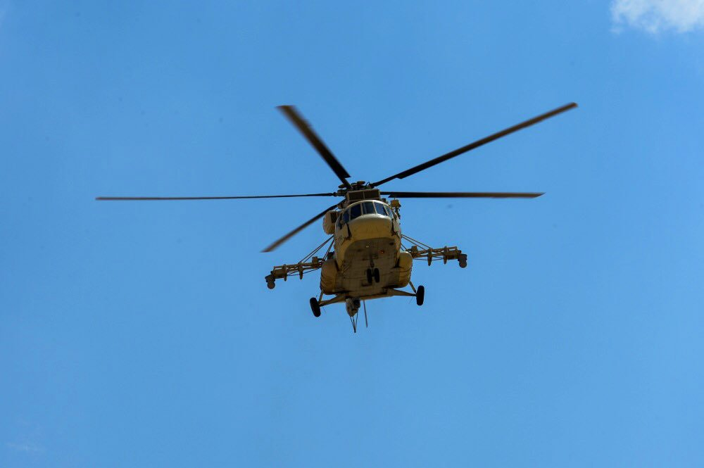 شركة Russian Helicopters القابضه ستحصل العام القادم على ترخيص بافتتاح قسم لصيانه مروحيات Mi-8/17 في مصر Dtq3uADW4AADu53
