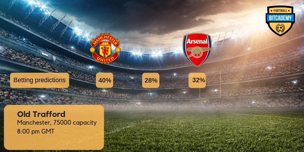 They are 8th in the table, 19 points behind the leader 😬 The atmosphere in the locker room is difficult, W-L-D-D were the last games... But they are still @ManUtd 💪 Join us and bet who will win tonight 👉 t.me/bitcademyfb #football #MUNARS #Mourinho #pogba #arsenal