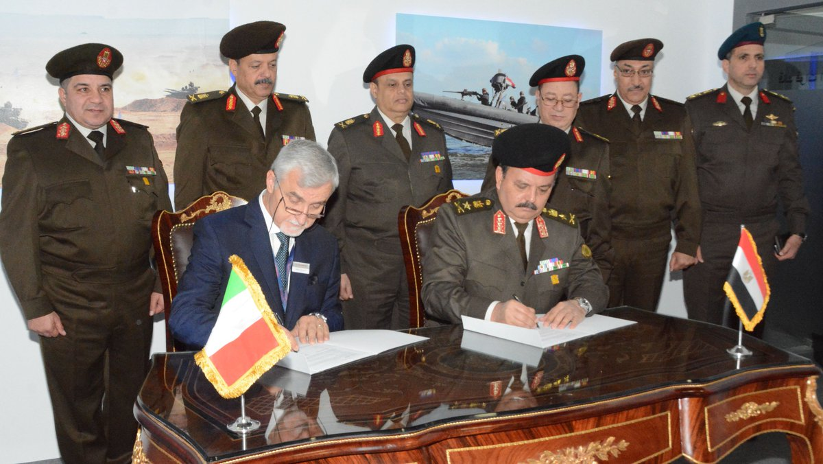 صفقات مصر العسكريه في معرض EDEX-2018 DtqFTpBW0AAwi4z