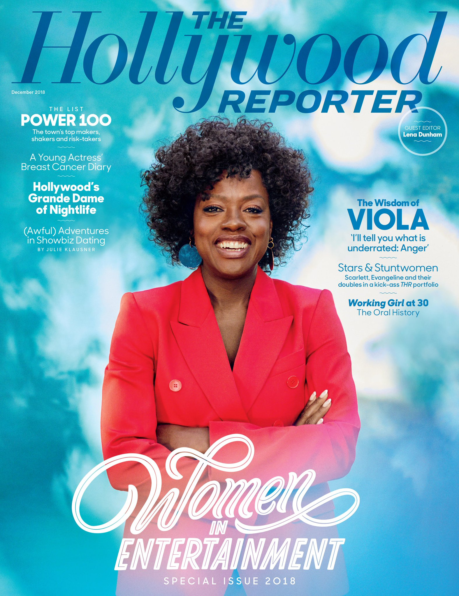 #WomenInEntertainment cover: The wisdom of @ViolaDavis — 'anger is underrated' https://t.co/0LuOgWFyYM https://t.co/hKsll4VJpw