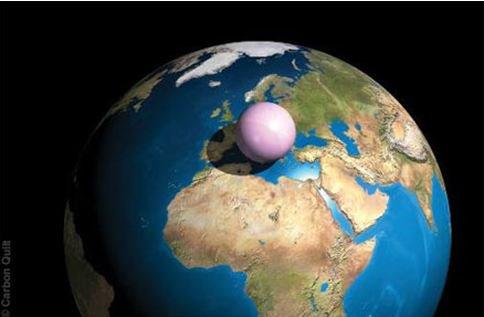 pretty nice e6850 10d63 Si on ramasse l air de la planète en une bille cela donne l image  ci-dessous... ça aide à visualiser le problème, hein